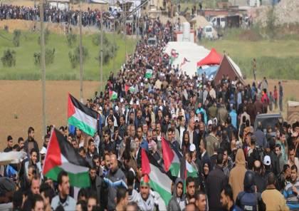 بدران: مسيرات العودة اليوم الجمعة ستكون فارقة