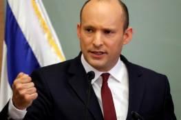 بينيت: مستعد لخوض حرب أخرى مع حماس و لا سلام مع الفلسطينيين لهذا السبب..
