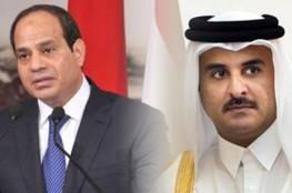 """السيسي وأمير قطر يتبادلان التهنئة لأول مرة منذ بيان قمة """"العلا"""""""