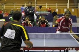 السقا يتأهل للدور الثاني من كأس زايد لكرة الطاولة