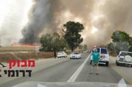 بالفيديو والصور: عدة حرائق في إسرائيل بفعل الأجواء الحارة