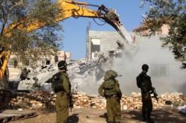 تقرير أممي: إسرائيل هدمت وصادرت 26 مبنى في الضفة الغربية خلال أسبوعين