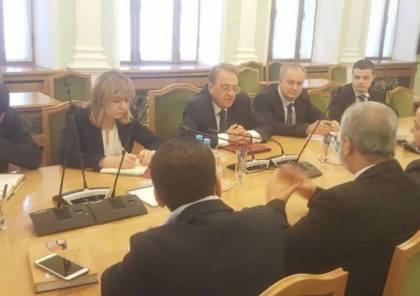 روسيا مستعدة لتقديم الدعم اللازم.. تفاصيل اجتماع وفد حماس مع بوغدانوف بموسكو