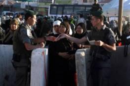 الاف المواطنين يتوجهون لصلاة الجمعة الاولى من رمضان بالمسجد الاقصى