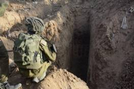 الجيش الاسرائيلي يحقق في ملابسات سقوط أحد جنوده في حفرة