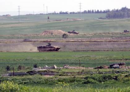 اطلاق نار على قوة عسكرية اسرائيلية جنوب قطاع غزة والاحتلال يقصف مراصد للمقاومة
