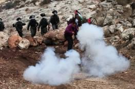 الاحتلال يقمع مسيرة بين دجن