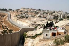 مستوطنون يجرفون أراض خلف الجدار في بلدة ابوديس لاقامة بؤرة استيطانية