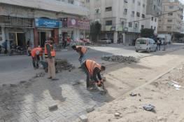 خلال فبراير.. بلدية غزة تنجز صيانة 95 موقعًا في شوارع المدينة