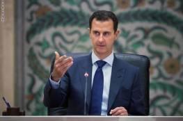 الرئاسة السورية: الأسد تعرّض لهبوط ضغط أثناء كلمته في البرلمان