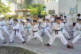 """انطلاق أكاديمية غزة الرياضي لتدريب رياضة """"الكاراتيه"""""""