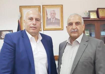 صيام ومسالمة يؤكدان على اهمية لقاء الاولمبيين المصري والفلسطيني