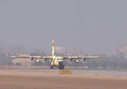شاهد: الجيش اللبناني يوجه رسالة إلى مصر بعد وصول طائرة الجيش المصري الثالثة إلى بيروت
