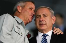 معاريف: غانتس يقترح على نتنياهو دعم السيادة مقابل تمرير الميزانية لعامين