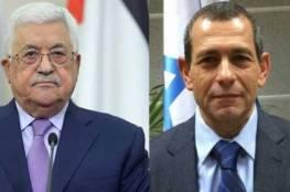 قناة عبرية : لقاء سري بين الرئيس عباس و رئيس الشاباك وهذا ما تناوله اللقاء ..