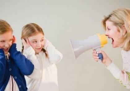 ما هي أضرار الصراخ في وجه الطفل وكيف نتخلص منه؟