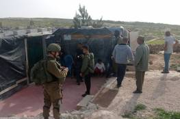 الاحتلال يعتقل 5 أطفال في تجمع الركيز جنوب الخليل