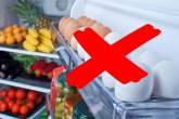 تحذير: لا تخزن البيض بباب الثلاجة