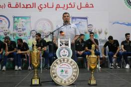 هنية: تطبيق الاحتراف الجزئي بغزة الموسم القادم
