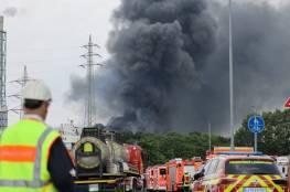 ألمانيا.. انفجار في مكب للنفايات بمدينة ليفركوزن (فيديو)