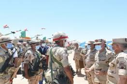"""رئيس الأركان المصري يدعو رجال المنطقة الجنوبية لـ""""اليقظة والاستعداد القتالي  (فيديو)"""