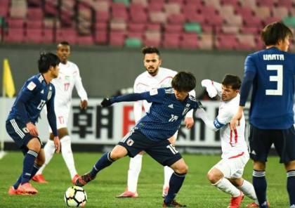 الأولمبي يخسر بصعوبة أمام اليابان في كأس آسيا