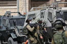 الاحتلال يعتدي على وقفة دعم وإسناد لأهالي عين البيضا جنوب الخليل