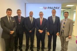 رئيس مجلس إدارة بنك إنجلترا ألمركزي يزور PalPay