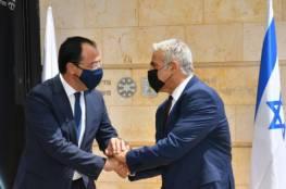 لابيد: إسرائيل تشعر بقلق عميق من تصرفات تركيا الاستفزازية