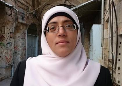 الاحتلال يعتقل خديجة خويص دون سبب وبشكل مفاجئ.