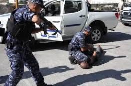الشرطة تقبض على تاجري مخدرات في جنين
