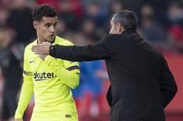 برشلونة يرفض ضم ماتا ويجدد الثقة في كوتينيو