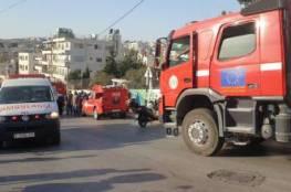 بيت لحم: 12 اصابة بحريق في جمعية رعاية الفتيات