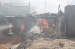 اللجنة القطرية تصرف الدفعة الأولى من منحة أمير قطر لمتضرري حريق النصيرات