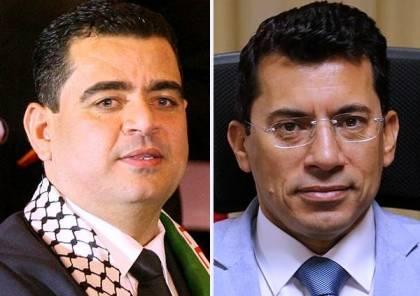 هنية يهاتف وزير الشباب والرياضة المصري