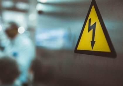 إصابة ثلاثة عمال جراء صعقة كهربائية في قلقيلية