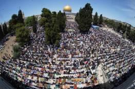 نحو 25 ألفاً يؤدون صلاة الجمعة في المسجد الأقصى