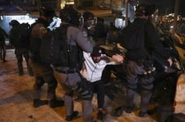 محدث .. أكثر من مئة مصاب في مواجهات مع الاحتلال في القدس