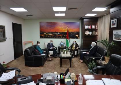وزيرة الصحة تلتقي الرئيس الجديد للوكالة الإيطالية للتعاون