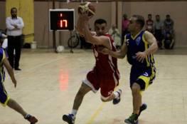 فوزان لخدمات رفح والبريج بدوري السلة