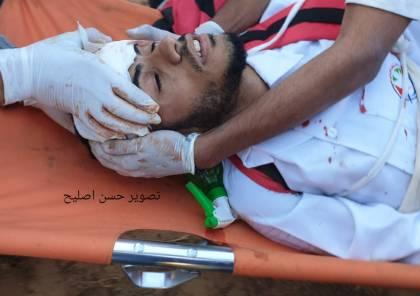 بالصور.. شهيد و 30 اصابة بينها حرجة برصاص الاحتلال شرق القطاع