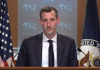 """واشنطن تندد بالهجمات الصاروخية من لبنان على """"إسرائيل"""""""