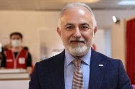 """رئيس """"الهلال الأحمر التركي"""" يصل غزة"""