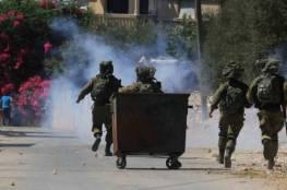 الاحتلال يقمع المسيرة الاسبوعية في كفر قدوم