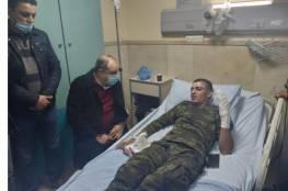 إصابة 4 عناصر من الأمن الوطني بجروح في مخيم بلاطة