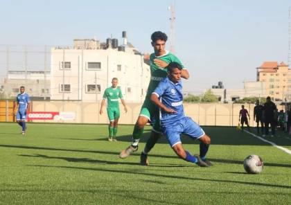 5 مباريات في دوري غزة السبت