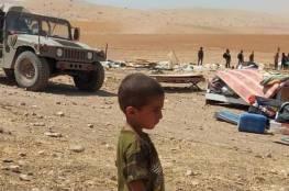 """""""الخارجية"""" تدين هدم الاحتلال خربة حمصة الفوقا وتعتبره ضما للضفة الغربية"""
