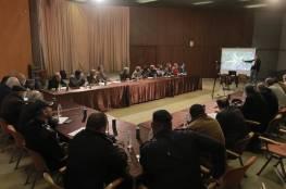 بلدية غزة تناقش مشروع تطوير مفترق الشجاعية