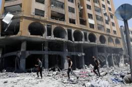 هيومن رايتس ووتش: الغارات الإسرائيلية على أبراج غزة ترقى إلى جرائم حرب