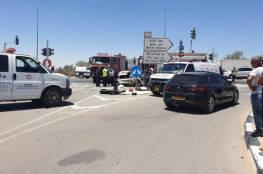 مصرع شابين من بير هداج في حادث طرق بالنقب